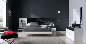 dormitorio de diseño moderno