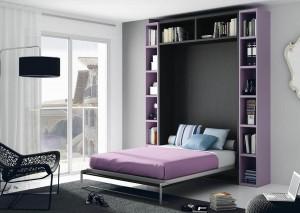 mueble juvenil     cama abatible